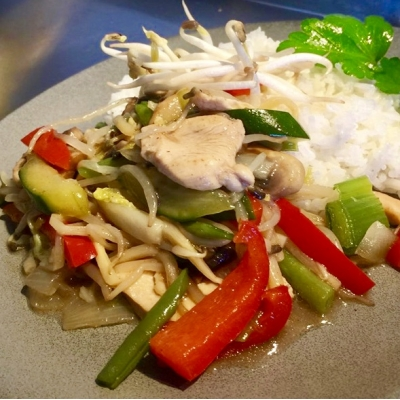 CHOP SUEY (NOT FOR TAKEAWAY)