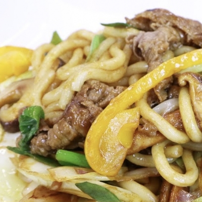 UDON NOODLES BEEF 2 SERVINGS
