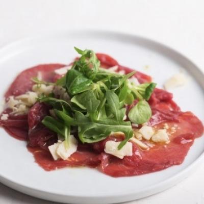 Bresaola Carpaccio with Taleggio Cheese and Rucola (STARTER)