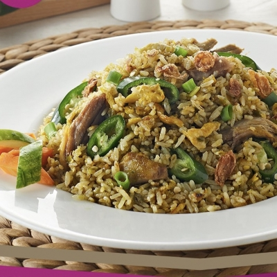 INDONESIAN FRIED RICE WITH DUCK 600 GR